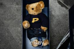 DS New Palace Polo Ralph Lauren Teddy Bear Plush 2018 15 with Display Case Box
