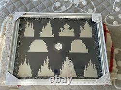 Disney Castle Collection Pin Display Case Shadow Box Frame
