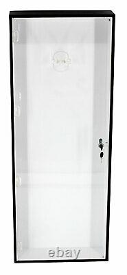 Electric Guitar Display Case Wall Cabinet Shadow Box, Measure before Buy, AGTAR4