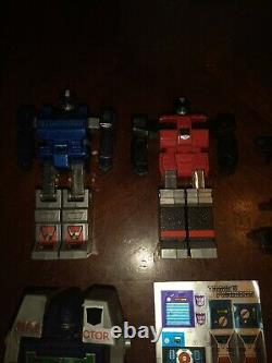 G1 Transformers Reflector In Box Complete Brand New Stickers With Display Case