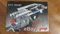GMP 16 TURBO OFFY Offenhauser Indy 500 race car engine orig. Box display case