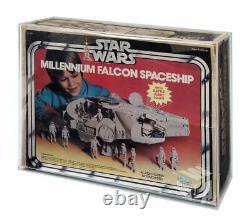 GW Acrylic Display CASE (only) for Boxed Kenner Millennium Falcon (AVC-020)