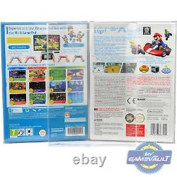 GameCube/Wii U Game Box Protectors SUPER STRONG 0.5mm Plastic Display Case x 100