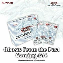 Ghosts From the Past GFTP Sealed Case 10 Displays 50 Mini Boxes Pre-Order YuGiOh