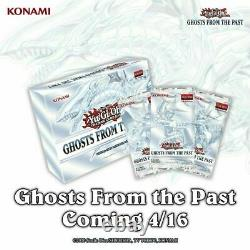 Ghosts From the Past GFTP Sealed Case 10 Displays 50 Mini Boxes YuGiOh IN STOCK