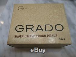 Grado New G+ Cartridge And New Genuine Grado G+ Stylus In Display Case & Box 1