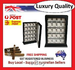 Hand Made Watch Cabinet Luxury Case Storage Display Box Jewellery Watches 12a