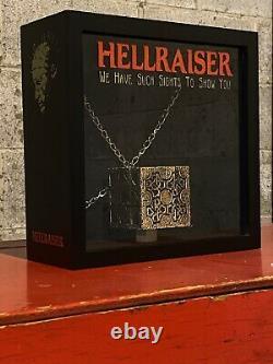 Hellraiser Puzzle Box Pinhead Lament Configuration Custom Display Case Stand