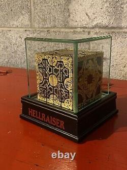 Hellraiser Puzzle Box Pinhead Lament Configuration Display Case Horror Prop