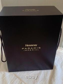 Hennessy Imperial Paradis collectable collectible Display Bottle Box Case Sleeve