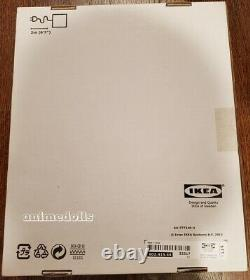 IKEA SYNAS 9 LED Lighted Clear Acrylic Display Case Box with Lid Dust Proof NEW