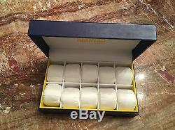 Invicta Blue Display Case 10-slot Aviator collector's Box