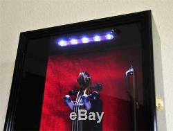 Jersey Uniform Bat Ball Jacket Display Case Shadow Box Frame Deeper Model 3.75