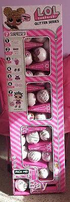L. O. L Surprise Doll Glitter Series Full Case 25 LOL Balls With Display Box
