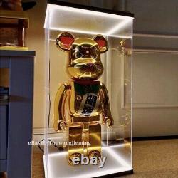 LED Acrylic Display Case Box For Bearbrick 1000% Action Figure Customized USB