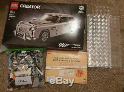 LEGO Creator Expert 10262 James Bond Aston Martin DB5 Box complete Display Case