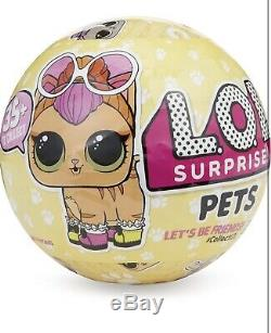 LOL Dolls Surprise Pets (Series 3) FULL CASE Display Box (18 balls) L. O. L Wave 1