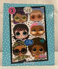 LOL Surprise! Boys Series 3 Full Case of Twelve (12) with Display Box