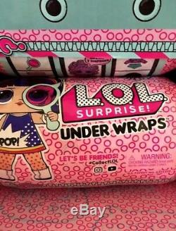 LOL Surprise Doll Eye Spy Series 4 Under Wraps Full Case Box Display 12 Capsules