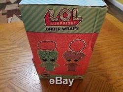 LOL Surprise Series 4 Wave 2 Under Wraps Full Case Box Of 12 Display