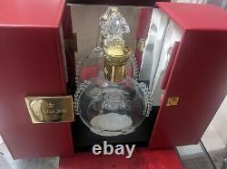 LOUIS XIII Remy Martin Decanter Baccarat Crystal bottle and Box Display Case