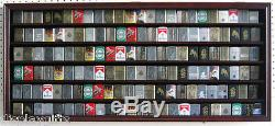 Large 132 Sport/Cigarette Lighter Display Case Cabinet Shadow Box Lchw05B-MA