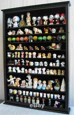Large Wall Display Case Shadow Box Cabinet for collectibles, Hinged door, CDSC16