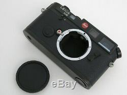 Leica M6 Classic 35mm Rangefinder Film Camera Body Only Box & Display Case