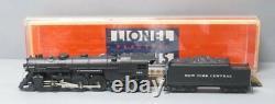 Lionel 6-8406 NYC 783 Hudson Steam Loco withDisplay Case EX/Box