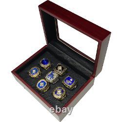 Los Angeles Dodgers MLB World Series Championship 7 Ring Box Set / Display Case