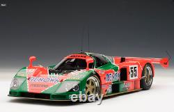 MAZDA 787B LeMANS 118 by AUTOART NEW WITH DISPLAY CASE OPENED BOX