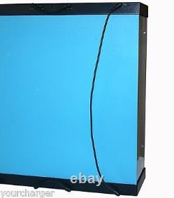 MB-4 Acrylic Display Case LED Light Box for FOUR 400% Bearbrick Be@rbrick Figure