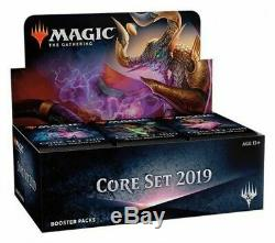 Magic The Gathering Core Set 2019 (M19) Booster Display Case (6x booster boxes)