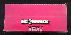 Medicom Be@rbrick Series 17 SEALED Display Case of 24 Bearbrick Blind Boxes RARE