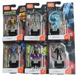 Mega Construx Heroes Mini Figures Series 5 Sealed Case display box, scareglow