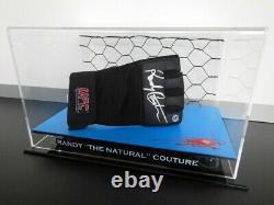 New Boxing Glove Blood Mat DISPLAY CASE UFC MMA WWE Sports Memorabilia Lego