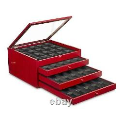 New Rosewood Zippo Lighters Chest Cabinet Display Cases Boxes holds 80 Lighters