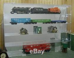 O Train Display Case Holds 15 New in Box Made in the USA
