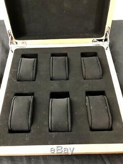 OEM Panerai 6 Watch Display Case Holder Boutique Item RARE HARD TO FIND
