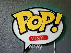 OUT OF BOX Display Cases for Funko Pops, display sign