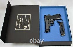 PISTOL GUN PRESENTATION CUSTOM DISPLAY CASE BOX for BERETTA m1934/35 1934 1935