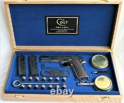 PISTOL GUN PRESENTATION CUSTOM DISPLAY CASE BOX for COLT 1911 government a1 1912