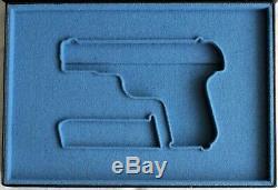 PISTOL GUN PRESENTATION CUSTOM DISPLAY CASE BOX for COLT m1903 hammerless pocket