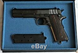 PISTOL GUN PRESENTATION CUSTOM DISPLAY CASE BOX for COLT m1911 government 1911A1
