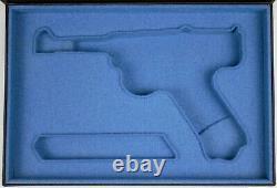 PISTOL GUN PRESENTATION CUSTOM DISPLAY CASE BOX for STOEGER LUGER P08 parabellum