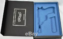 PISTOL GUN PRESENTATION CUSTOM DISPLAY CASE BOX for WALTHER P38 mauser pp ppk