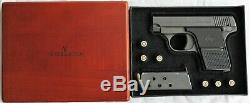PISTOL PRESENTATION DISPLAY CASE BOX for CZ mod Z. 25 ACP walther beretta luger