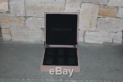 Panerai 6 Watch Display Case Holder OEM Boutique Item RARE