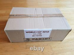 Panini World Cup South Africa 2010 case 12x sticker box/display, 12x100 packets