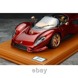 Peako 118 Scale De Tomaso P72 Resin Model Collection withDisplay Case NEW IN BOX